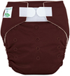 Tiny Tush Elite 2.0 One Size Pocket Diaper Aplix Chocolate