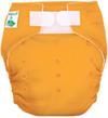 Orange One Size Pocket Diaper