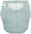 Tiny Tush Elite 2.0 One Size Pocket Diaper Aplix Sage