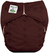 Tiny Tush Elite 2.0 One Size Pocket Diaper Snap Chocolate