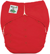 Tiny Tush Elite 2.0 One Size Pocket Diaper Snap Red