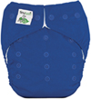 Saturn Blue One Size Pocket Diaper