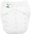 White One Size Pocket Diaper