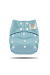 Light Blue Snap Tweedle Bug Pocket Diaper