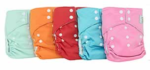New Tweedle Bugs OS Pocket Diapers