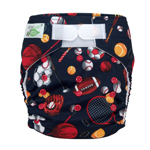 Tiny Tush Elite 2.0 One Size Pocket Diaper Aplix Allstar