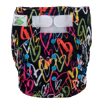 Tiny Tush Elite 2.0 One Size Pocket Diaper Aplix Amore