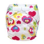 Tiny Tush Elite 2.0 One Size Pocket Diaper Aplix Cupid