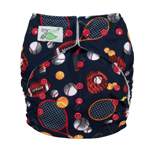 Tiny Tush Elite 2.0 One Size Pocket Diaper Snap Allstar