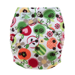 Tiny Tush Elite 2.0 One Size Pocket Diaper Snap Delicious
