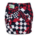 Tiny Tush Elite 2.0 One Size Pocket Diaper Snap Derby