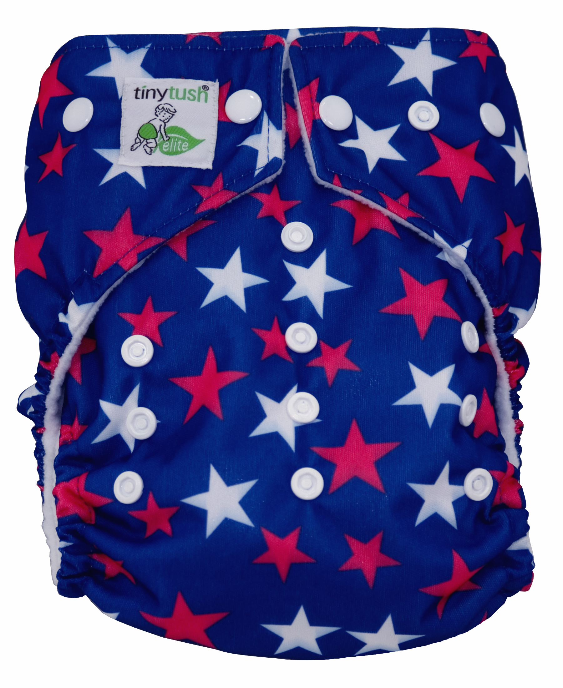 Star Spangled Snap One Size Pocket Diaper