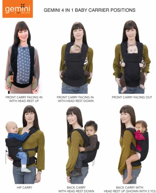 Gemini Baby Carrier By Beco