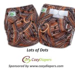 Lots of Dots One Size Pocket Diapers