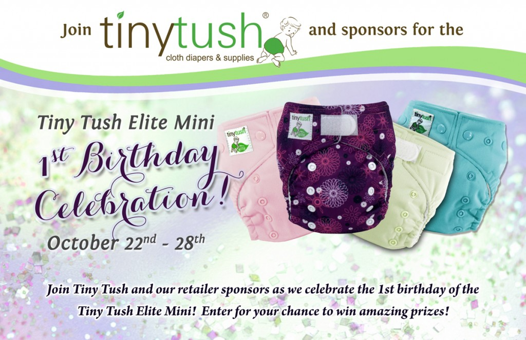 Tiny Tush Elite Mini Birthday Celebration