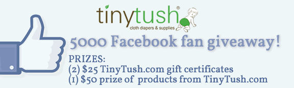 Thank You For Liking TinyTush.com On Facebook