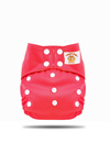 Tweedle Bugs One Size Pocket Diaper Red