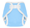 Sky Blue Hook And Loop Tweedle Bugs Sized Diaper Cover