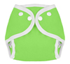 Green Snap Tweedle Bugs Sized Diaper Cover