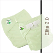 Our Favorite! The One Size Pocket Diapers  A pocket diaper is a 2-piece system with a diaper-shaped shell that has a pocket opening where you stuff an insert or anything absorbent.