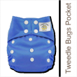 Tweedle Bugs One Size Pocket Diaper