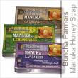 Buncha Farmer's natural soaps are perfect for people with sensitive skin or if you want a more moisturizing feel from your soap, Manuka Honey and Lavender is calming and soothing the Manuka Honey and Lemongrass deodorizes and refreshes the Manuka Honey and Oatmeal is non scented with the goodness of oatmeal and honey.