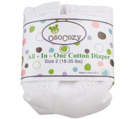 OsoCozy All In One White Color