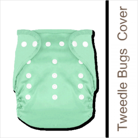 Tweedle Bugs One Size Diaper Covers provide a great fit for your child in the 12-40 pound range. This wonderful diaper cover will eliminate the need for multiple diaper covers in different sizes making it economical and affordable.