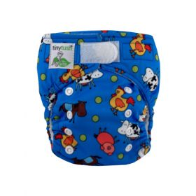 Elite Mini Pocket Diaper Aplix Farm Fun