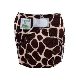 Elite Mini Pocket Diaper Aplix Giraffe