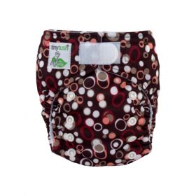 Elite Mini Pocket Diaper Aplix Pebbles
