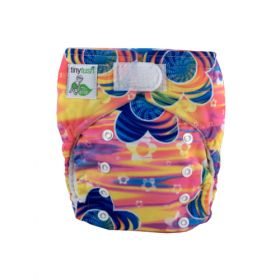 Elite Mini Pocket Diaper Aplix Sunset