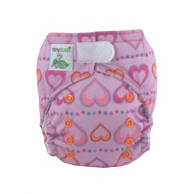 Elite Mini Pocket Diaper Aplix Sweet Heart
