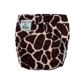 Elite Mini Pocket Diaper Snap Giraffe