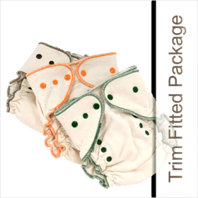 Tiny Tush Fitted Diaper Package