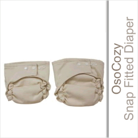 OsoCozy Snap Fitted Cloth Diaper