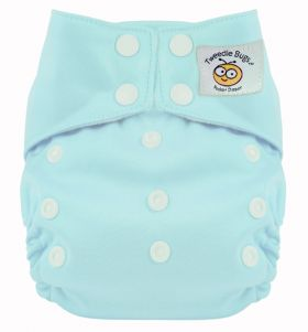 Tweedle Bugs One Size Pocket Diaper Seaspray