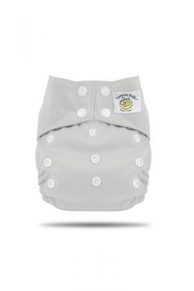 Tweedle Bugs One Size Pocket Diaper White