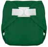 Tiny Tush Kelly Green Aplix Sized Diaper Cover