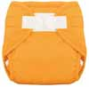 Tiny Tush Orange Aplix Sized Diaper Cover