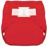 Tiny Tush Red Aplix Sized Diaper Cover