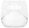 Tiny Tush White Aplix Sized Diaper Cover