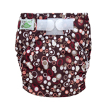 Tiny Tush Elite 2.0 One Size Pocket Diaper Aplix Pebbles