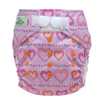 Tiny Tush Elite 2.0 One Size Pocket Diaper Aplix Sweetheart