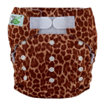 Tiny Tush Elite 2.0 One Size Pocket Diaper Aplix Wildside