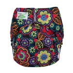 Tiny Tush Elite 2.0 One Size Pocket Diaper Snap Autumn