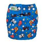 Tiny Tush Elite 2.0 One Size Pocket Diaper Snap Farm Fun
