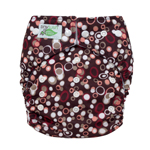Tiny Tush Elite 2.0 One Size Pocket Diaper Snap Pebbles