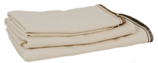 The prefold's are very absorbent and can be folded to get the perfect absorbency and because they are inexpensive, taking a pack on vacation should last, even with no laundry facilities.