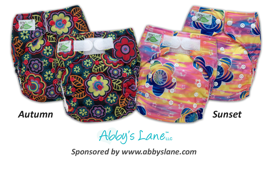 New One Size Pocket Diaper Prints - Autumn & Sunset